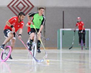 Одноколесный хоккей