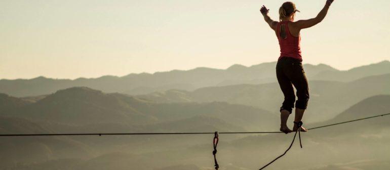 Слэклайнинг как вид спорта
