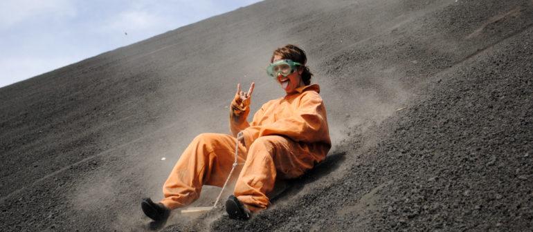 Самое популярное место у вулканобордеров