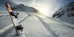 Когда появился первый сноуборд?