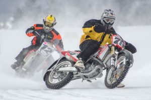 Racing_on_ice_track