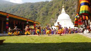 Королевство Бутан Земля Громового дракона