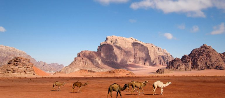 Лучшие туристические направления Иордании — пустыня Вади-Рам