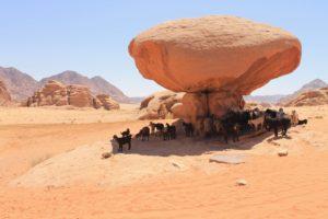 Лучшие туристические направления Иордании - пустыня Вади-Рам