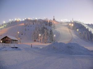 Зимние курорты Финляндии