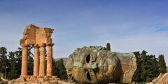 Агридженто и его руины в Сицилии