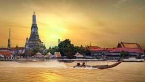 Бангкок сказочный город