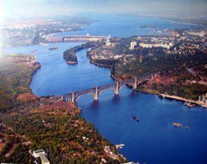 Лучшие туристические направления Украины - Запорожье