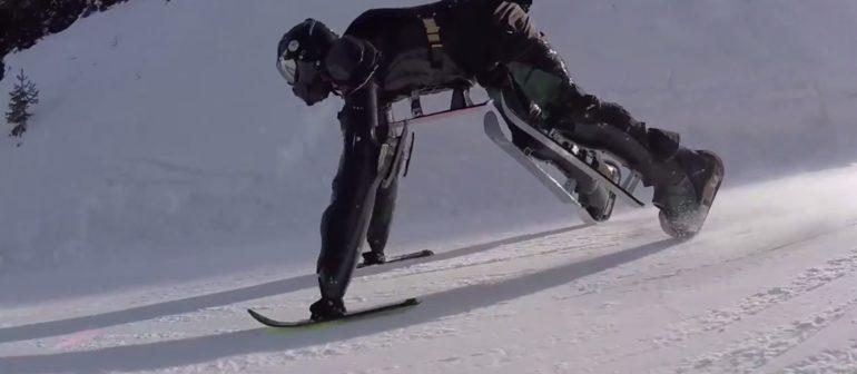 Роллермен на лыжах