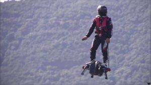 О ховерборде Flyboard Air (реактивная летающая доска)