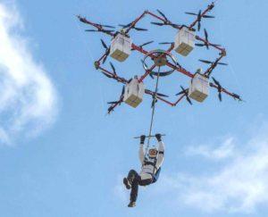 Прыжки с дронов