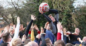 Королевский масленичный футбол