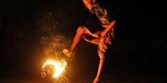 Огненный футбол