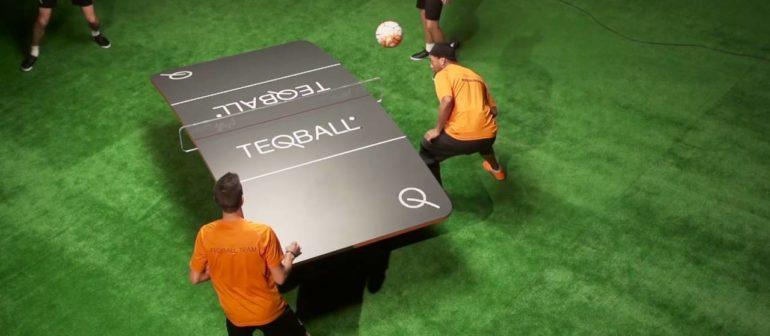 Текбол (teqball)