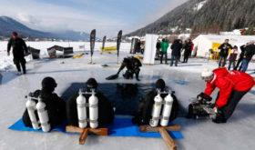 Подлёдный хоккей — самый экстремальный зимний вид спорта