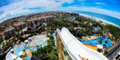 Самая высокая водная горка (Бразилия, курорт Форталеза)