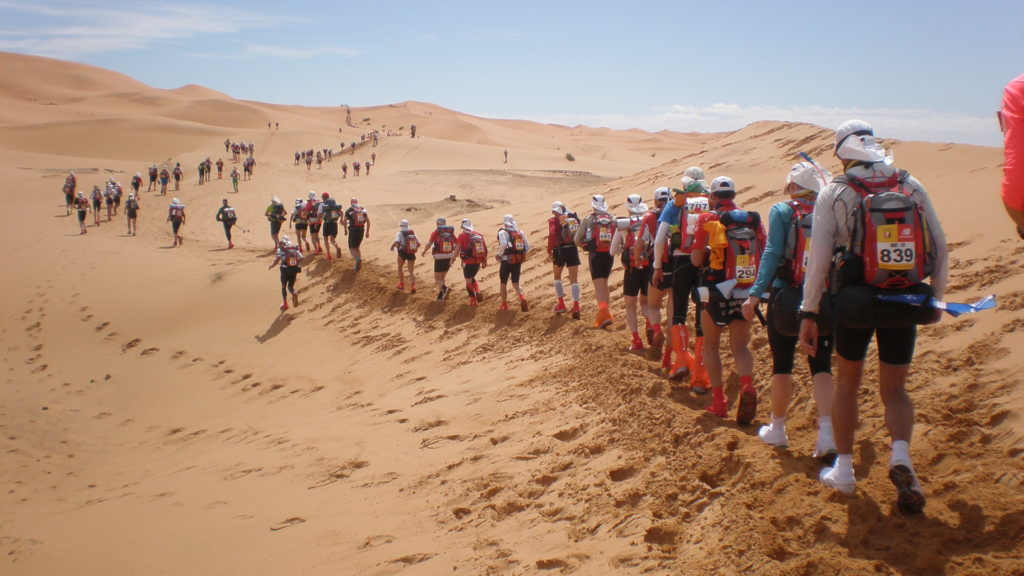 Марафон в песках (Marathon des Sables)