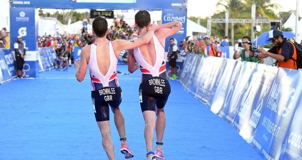 Исторический финиш в триатлоне братьев Алистера и Джонатана Браунли