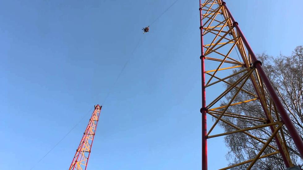 Самая высокая катапульта в мире (Диво остров)