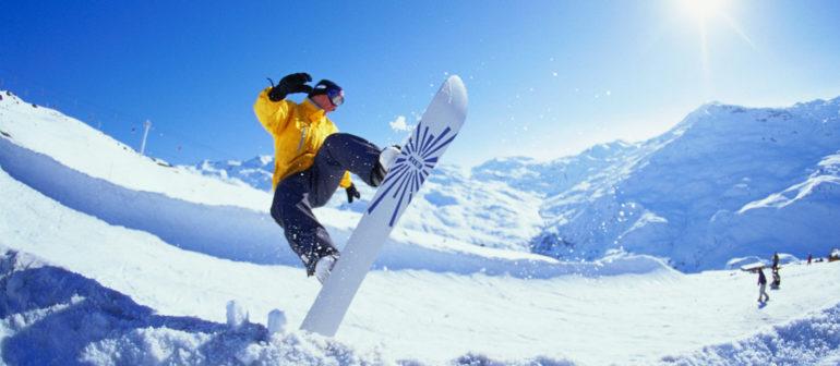 Спортивные виды сноубординга