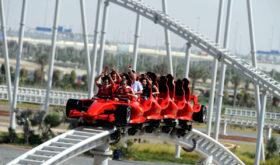 Самые быстрые «американские горки» (комплекс Formula Rossa)