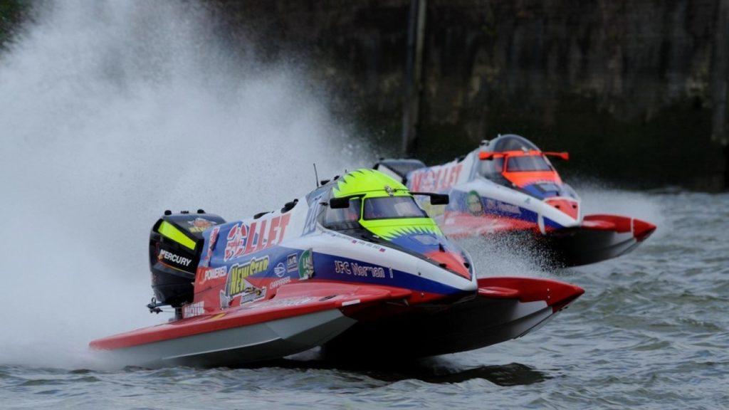 Гонки на моторных лодках «24 часа Руана»
