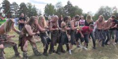 Перетягивание шкур – древний вид спорта