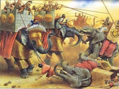 «Коррида» со слонами - древний вид спорта