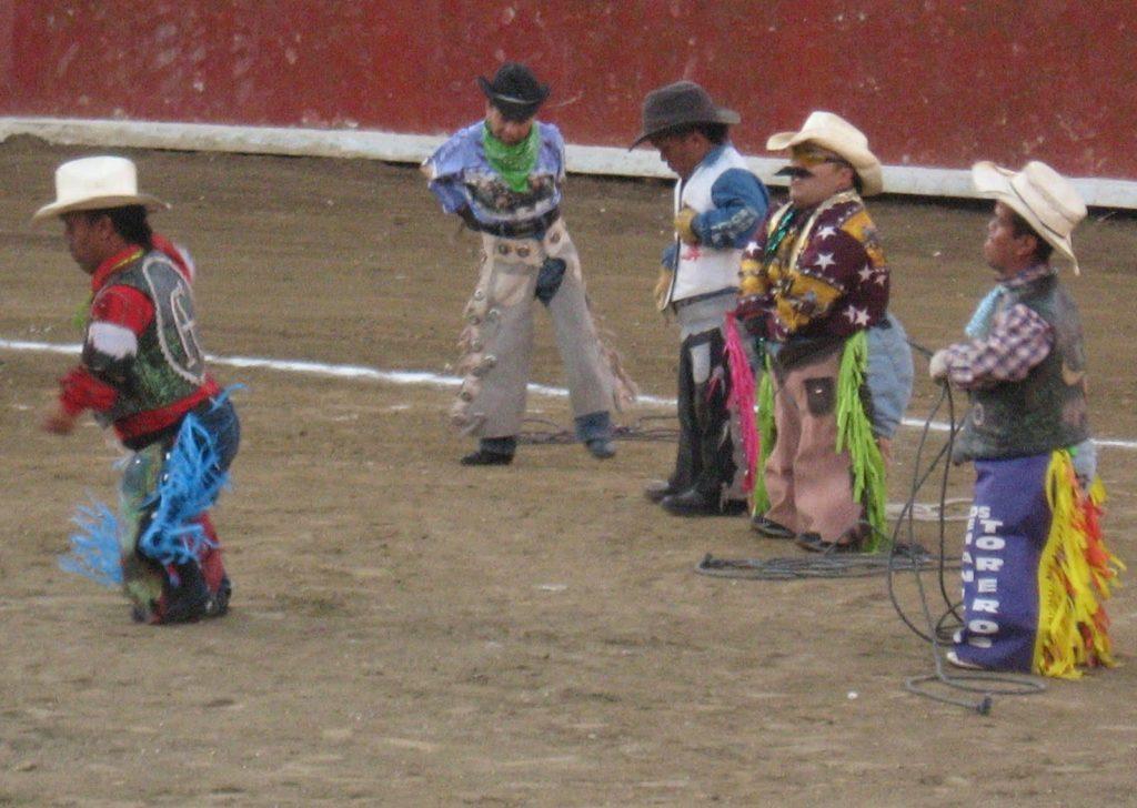 Родео карликов в Мексике