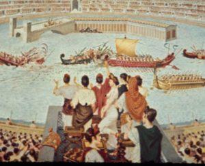 Навмахия – древний вид спорта
