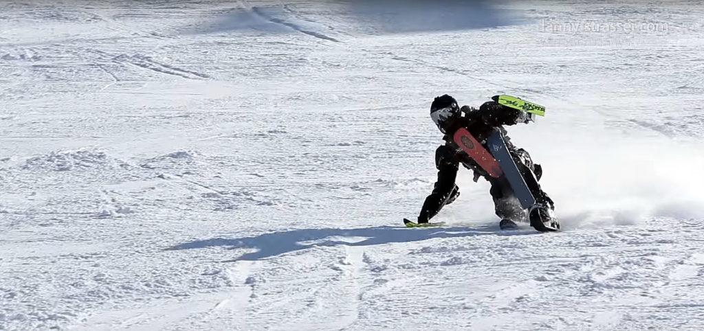 Лыжный человек - Ski Man (Rollerman Winter suit)