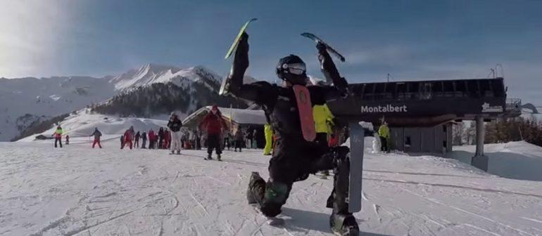 Лыжный человек – Ski Man (Rollerman Winter suit)