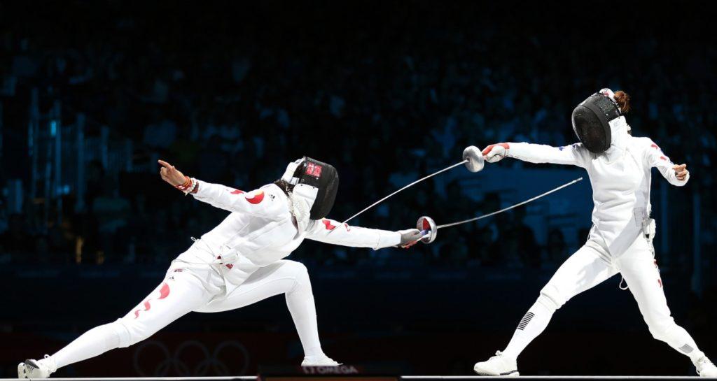 Спортивное фехтование