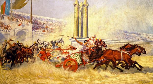 Гонки на колесницах (древний вид спорта)