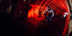 Подземная гонка на велосипедах (underground racing)