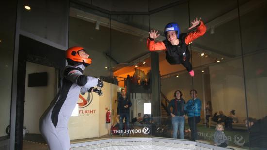 Полеты в закрытом пространстве (Bodyflight) (Спорт будущего)