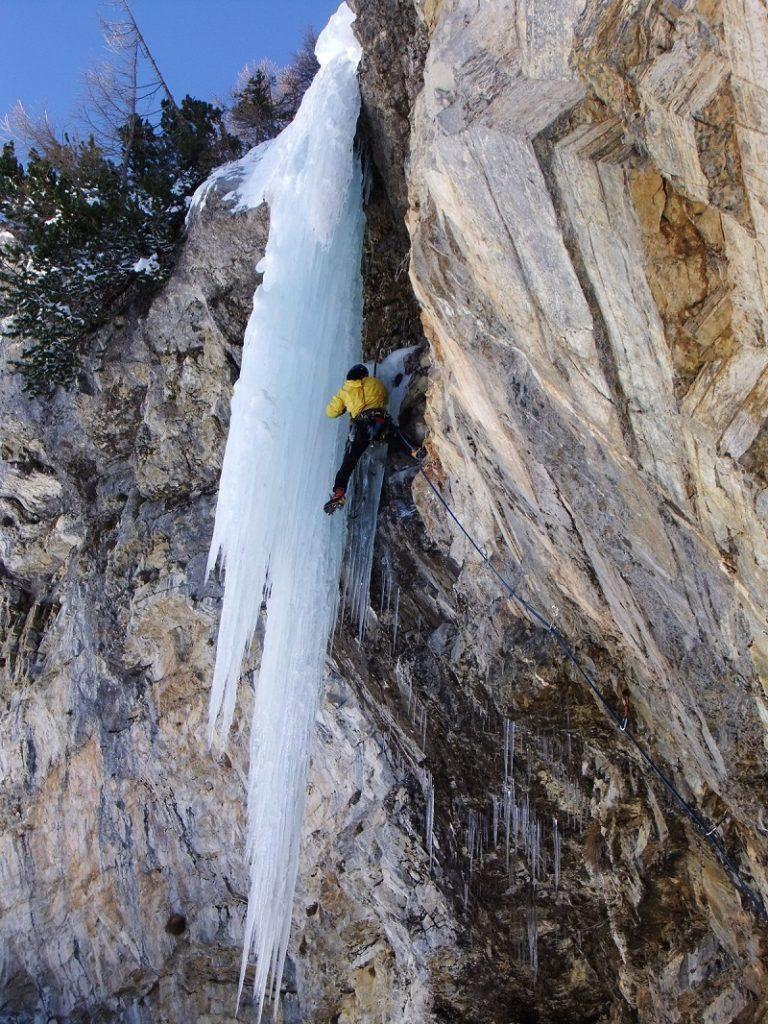 Драйтулинг - восхождение на лед