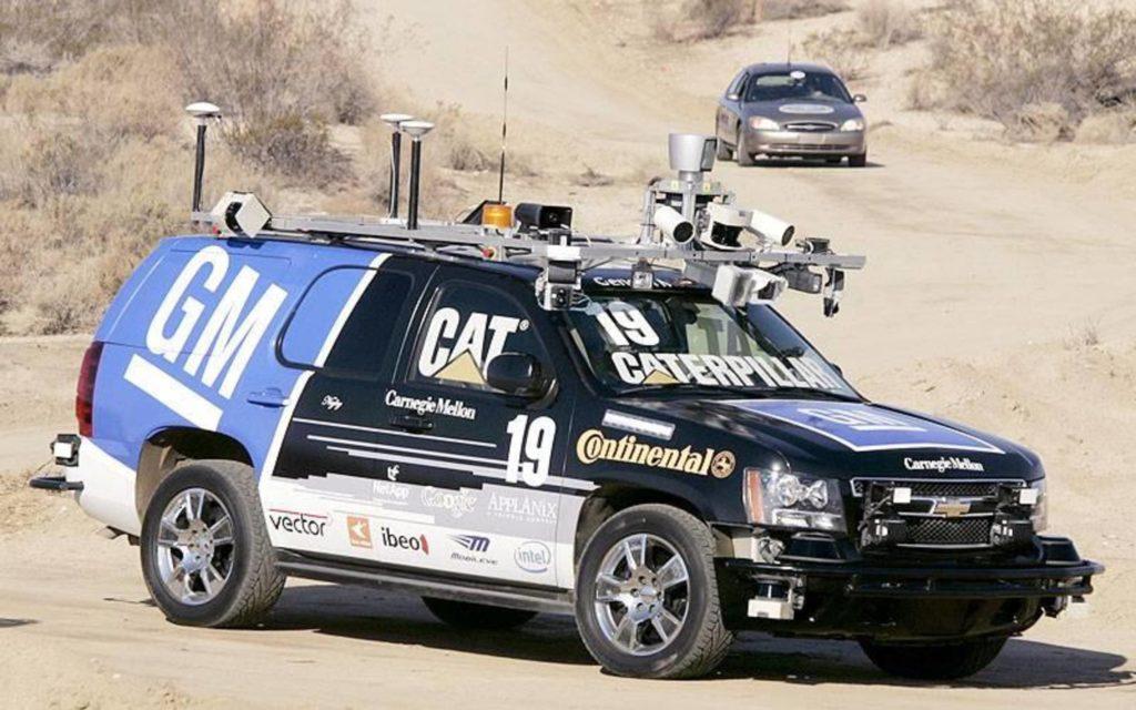 Беспилотные автогонки (спорт будущего)