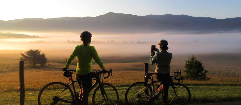 Велотуризм – самый популярный вид туризма.