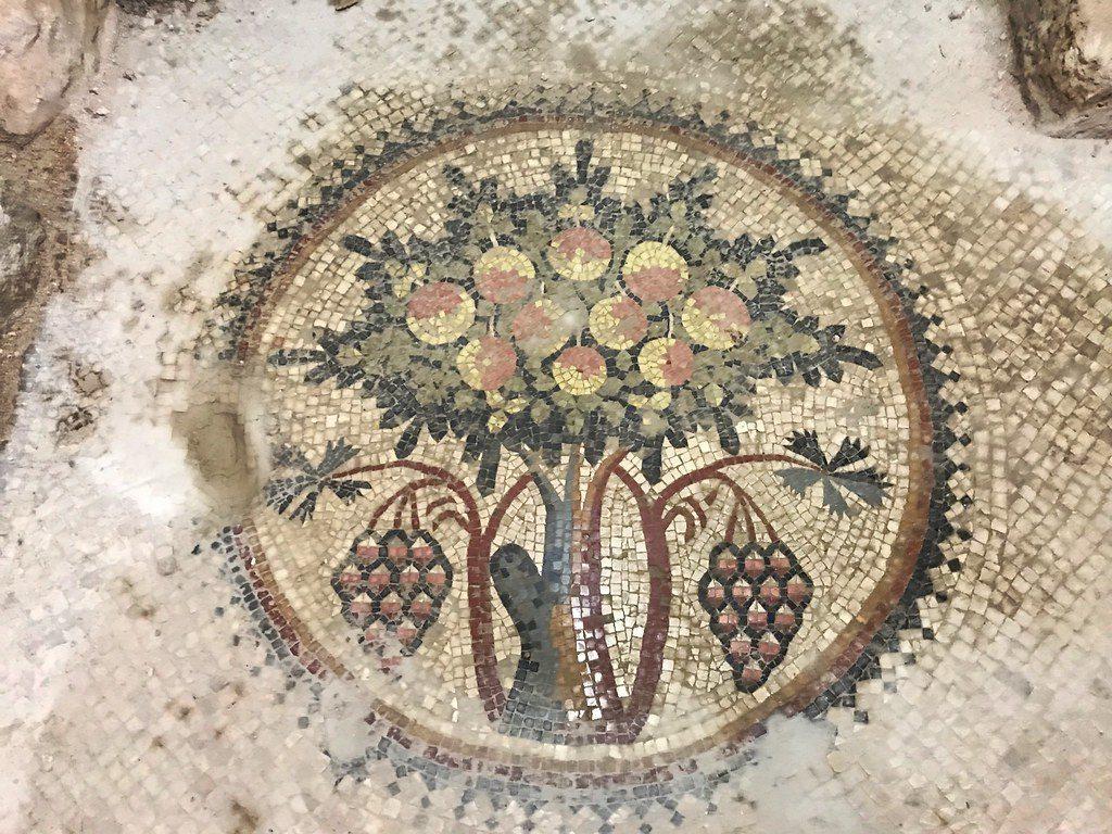 Лучшие достопримечательности Иордании — Мозаика Мадаба