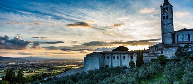 Три дня отдыха в Ассизи, Италия