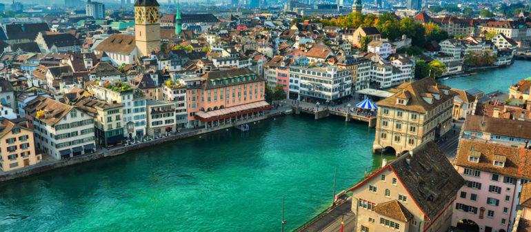 Отдых в Цюрихе, Швейцария