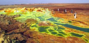 Экстремальный туризм в пустыне Данакиль
