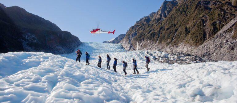 Трекинг по леднику – Ледник Фокса, Новая Зеландия