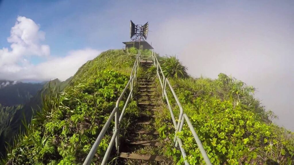 Экстремальная лестница Хайку