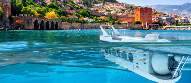Подводные экскурсии на подводных лодках (субмаринах)