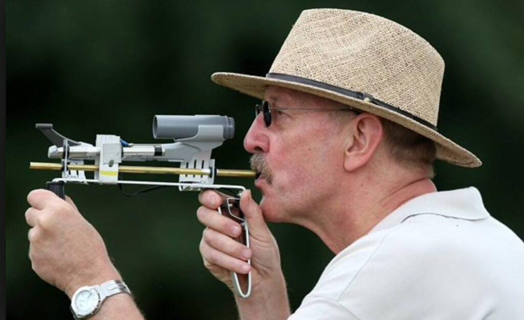 Стрельба горохом (pea shooting)