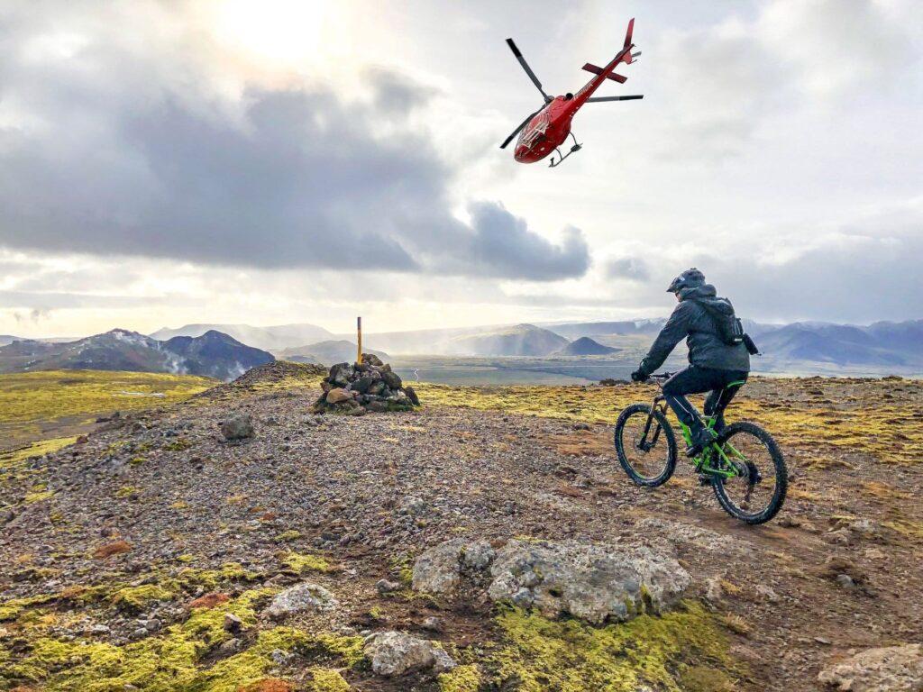 Хели-байкинг (Heli-Biking, helibiking)