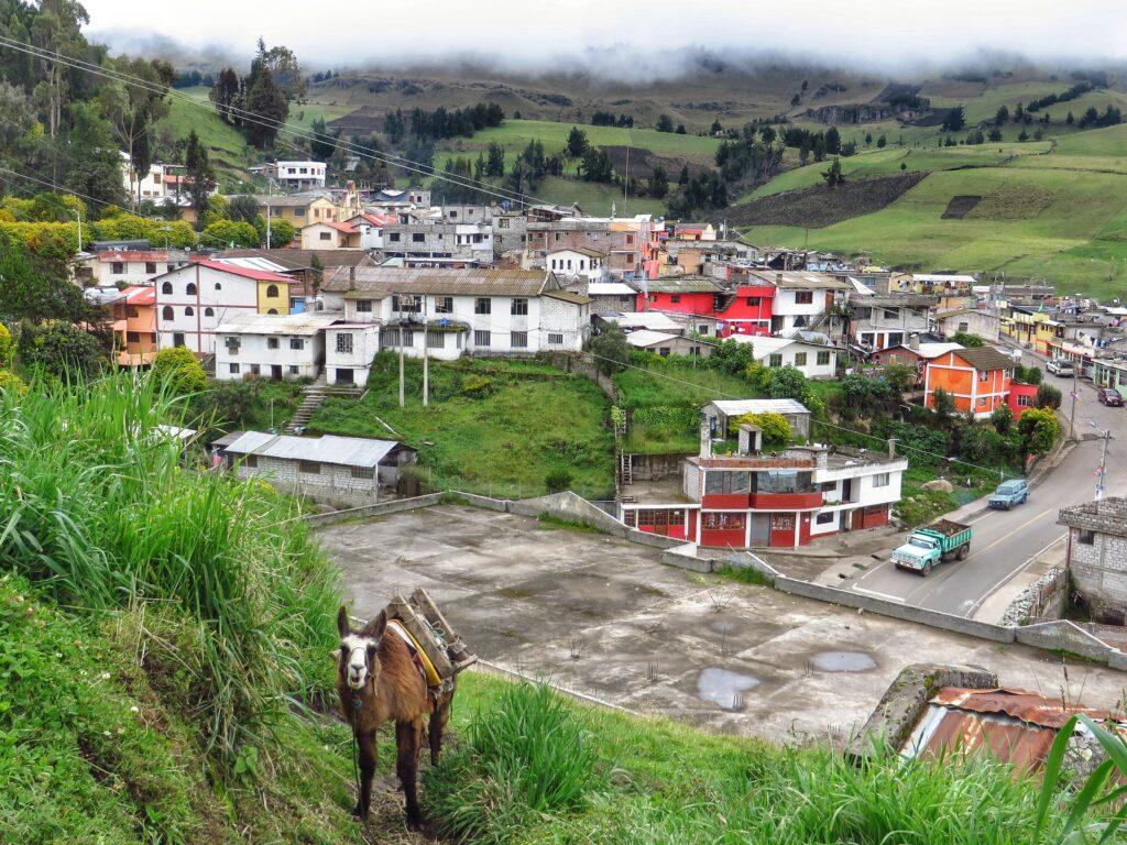 Салинас - знаменитый курорт Эквадора.