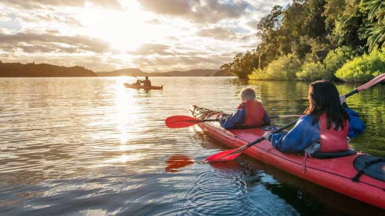 5 самых популярных видов активного туризма и отдыха.